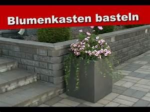 Blumenkasten Aus Terrassendielen Selber Bauen : basteln mit styropor ideen blumenkasten selber bauen bastelideen tipps f r den garten ~ Orissabook.com Haus und Dekorationen