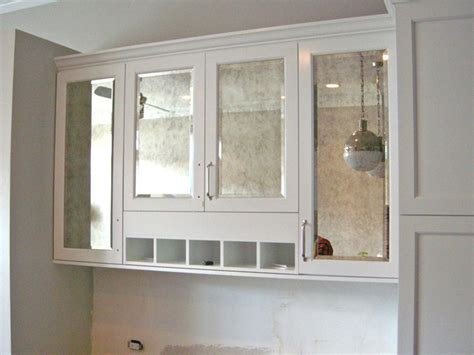 mirrored glass kitchen cabinets antiqued mirror kitchen cabinets contemporary kitchen
