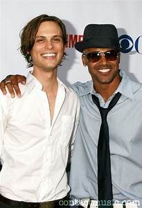 Matthew Gray Gubler and Shemar Moore | Criminal minds ...