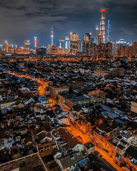 incredible drone photography captures shanghai