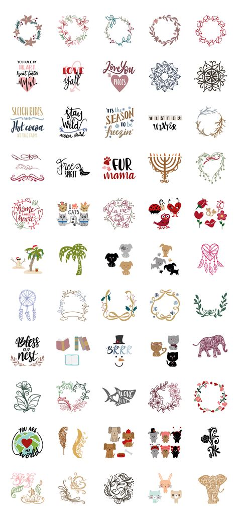 Also great for print & cut projects like planner stickers on your electronic. Like a Giveaway Bundle | Cricut svg files free, Printable ...