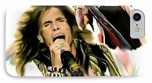 Rocks Gothic Lion II Steven Tyler Painting by Iconic ...