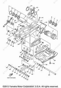 Yamaha Atv 2011 Oem Parts Diagram For Rear Arm