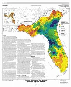 Transmissivity Of The Upper Floridan Aquifer In Florida