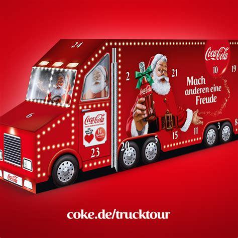 coca cola adventskalender 2016 coca cola weihnachtstour 2015 wir verlosen 2 adventskalender weihnachtstrucks