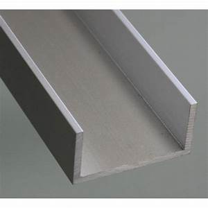 Profilé Inox En U : profil aluminium en u 20x40 syst al ~ Dailycaller-alerts.com Idées de Décoration