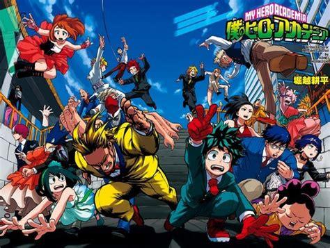 young heroes assemble boku  hero academia  class