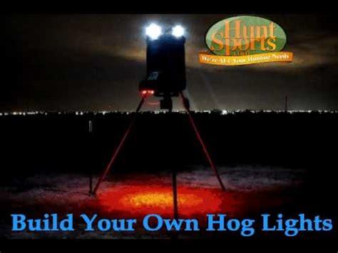 Hog Lights by Boar Hog Led Feeder Light Plan