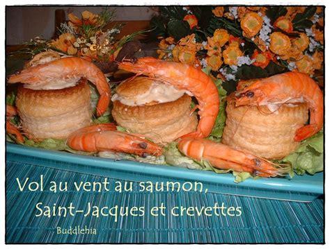 cuisine vol au vent aux chignons vol au vent au saumon jacques et crevettes