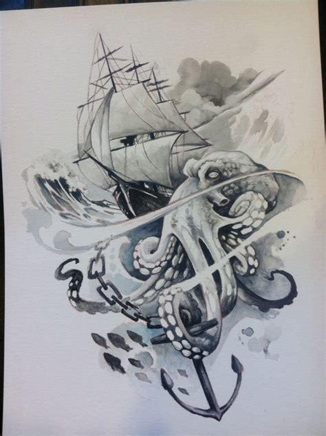 kraken drawing  getdrawingscom   personal