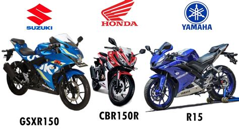 Suzuki Vs Yamaha by Honda Cbr 150r Vs Yamaha R15 V3 Hobbiesxstyle