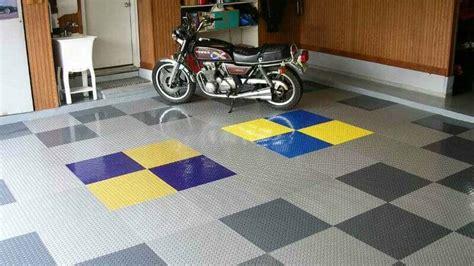 truth  peel  stick vinyl garage floor tiles