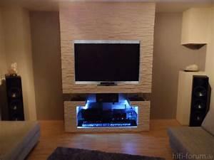 Hifi Regal Selber Bauen : tv wand stein selber bauen ~ Bigdaddyawards.com Haus und Dekorationen