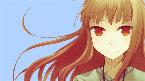 Spice And Wolf Anime Face Hd Wallpaper Anime Wallpaper