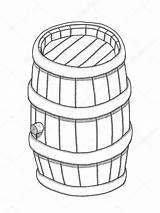 Keg Drawing Getdrawings Vector sketch template