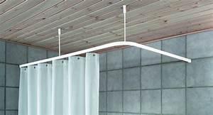Schiene Für Duschvorhang : decke abh ngen bad ~ Sanjose-hotels-ca.com Haus und Dekorationen