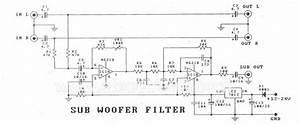 Cheap Car Subwoofer Filter Circuit