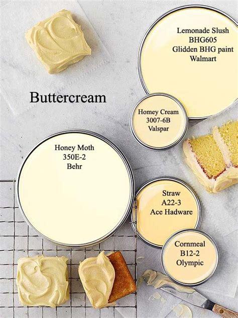 buttercream yellow paint colors via bhg com color my