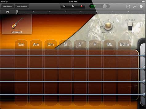 Apple Garageband For Ipad, Multitouch Recording Studio