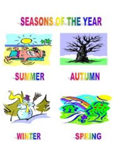 English Teaching Worksheets Seasons