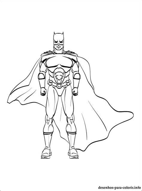 imagem  desenhar de batman desenhos  colorir