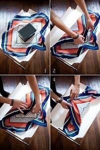 Comment Emballer Un Cadeau : comment faire un emballage cadeau avec un foulard ~ Melissatoandfro.com Idées de Décoration