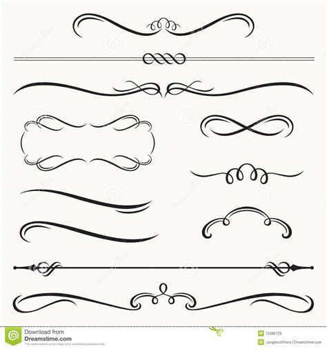 decorative borders  frames royalty  stock images