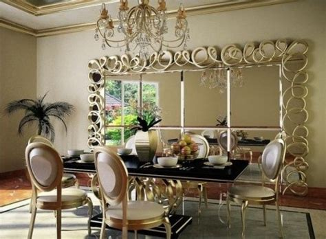 feng shui decor decorative wall mirrors for living room with chandelier