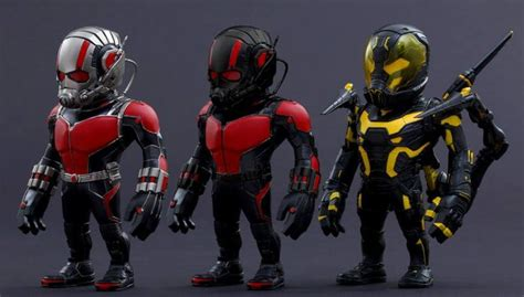 hot toys reveals stylized ant man figures comingsoonnet