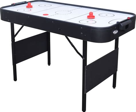 Gamesson Shark 4 Foot Air Hockey Table Modern Square Coffee Tables Restoration Table Chicago Gaming Signature Foosball Acrylic Glass Opus Oak With Draws Marble Singapore Standard Height Of