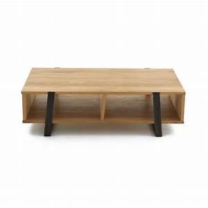Table Chene Et Metal : allonge de table en ch ne et m tal d co nature boston ~ Teatrodelosmanantiales.com Idées de Décoration