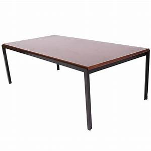 t angle coffee table by florence knoll for sale at 1stdibs With angled coffee table