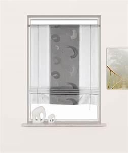 Waschbeckenunterschrank Höhe 70 Cm : b ndchenraffrollo wei grau breite 70 cm h he 135 cm romodo ~ Bigdaddyawards.com Haus und Dekorationen