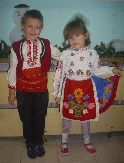 cooperative galatea varna production of bulgarian national clothing childrens