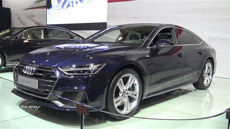 2019 Audi A7 Interior by 2019 Audi A7 Exterior And Interior Walkaround 2018