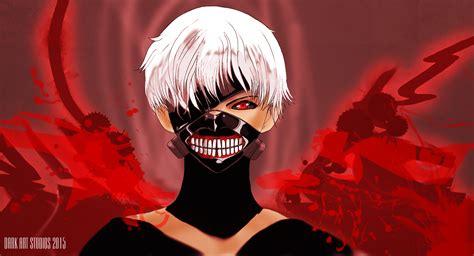 Tokyo Ghoul Kaneki In Artrage 4 By Darkartstudiosdesign On
