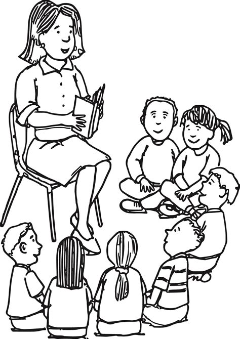 Teacher Coloring Pages  Best Coloring Pages For Kids