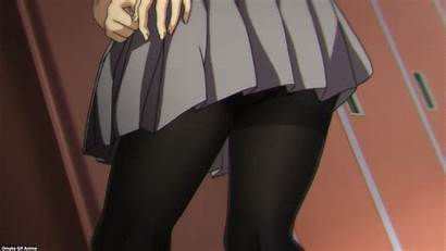 Tights Miru Episode Skirt Anime Homi Ahegao