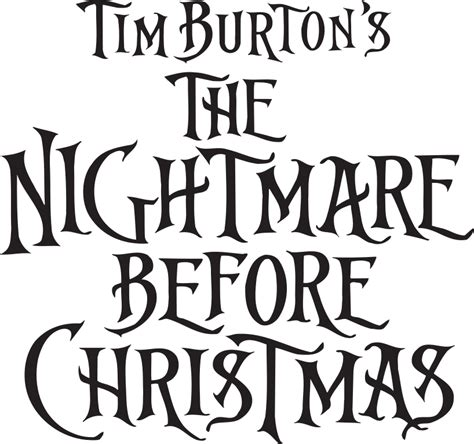 Nightmare Before Christmas Svg Images  – 52+ SVG Cut File