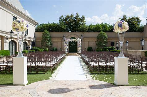 St Regis Atlanta Wedding Outdoor Ceremony Site At Hotel