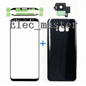 For Samsung Galaxy S8 S8 Plus Front Glass Lens   Battery