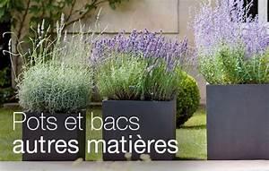 Bacs pots en fibre achat decoration jardin jardinerie for Amenagement petit jardin exterieur 15 bac pot terre cuite achat decoration jardin