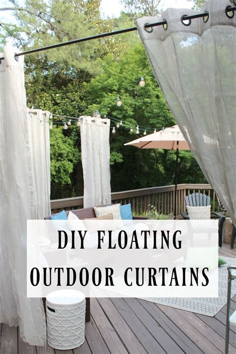 Inexpensive Patio Curtain Ideas by Best 25 Deck Curtains Ideas On Outdoor