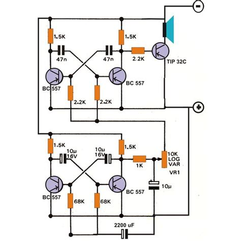 How Build Bird Sound Effects Generator Circuit