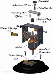 Horn Parts Diagram
