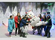 Star City features Snow World Photos GMA News Online