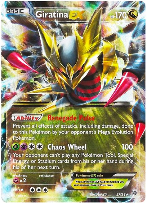 giratina  ancient origins  pokemon card