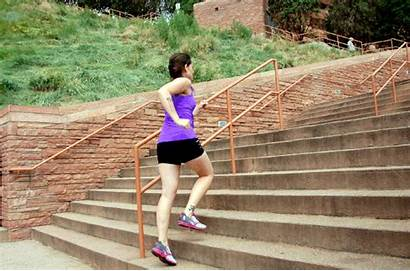 Stair Workout Outdoor Running Stairs Fast Without