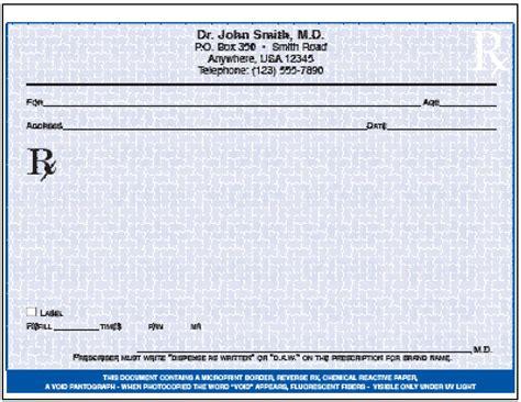 prescription pad template prescription forms print your own myideasbedroom