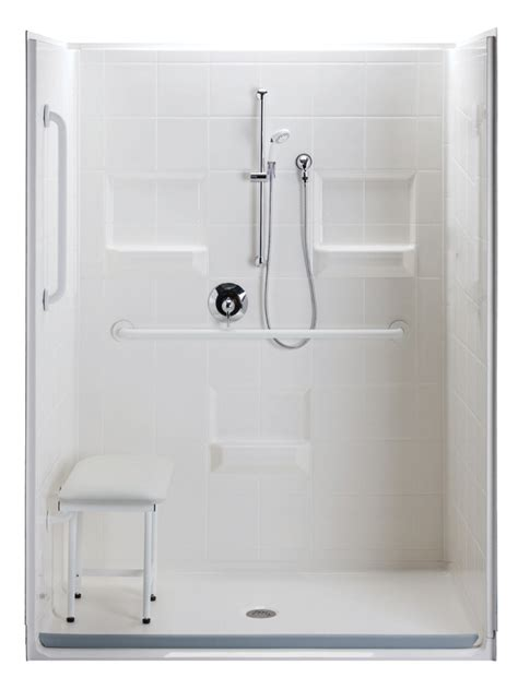 shower steam units handicap showers